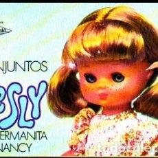 Muñecas Lesly de Famosa: CATALOGO CONJUNTOS LESLY HERMANA DE NANCY AÑO 1977. Lote 261797720