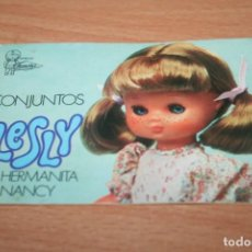 Muñecas Lesly de Famosa: CATALOGO MUÑECA LESLY. Lote 269442658
