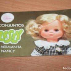Muñecas Lesly de Famosa: CATALOGO MUÑECA LESLY. Lote 269442703