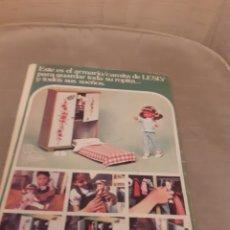 Muñecas Lesly de Famosa: CUENTO LILY AÑOS 70,CON PROPAGANDA DE LA MUÑECA LESLY DE FAMOSA.. Lote 269465668