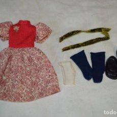 Muñecas Lesly de Famosa: CONJUNTO GALA / REPUESTO PARA LESLY ANTIGUA - ETIQUETA 74 / FAMOSA - ¡MIRA FOTOS/DETALLES!. Lote 283319743