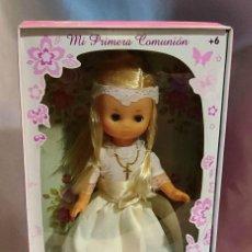 Muñecas Lesly de Famosa: LESLY COMUNIÓN - LA HERMANITA DE NANCY - COLECCION 2016 - NUEVA SIN USAR EN CAJA. Lote 288040783