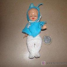 Muñecas Modernas: PEQUEÑA MUÑECA ANTIGUA(OJOS MOVILES) MIDE UNOS 11,00 CENTIMETROS. Lote 26754579