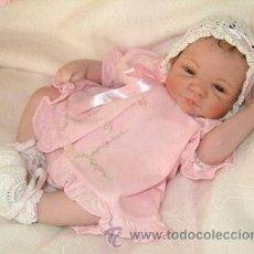 Muñecas Modernas - PRECIOSO BEBE JUST BORN IN PINK . PRESTIGIOSA ARTISTA SHEILA MICHEL.. - 26435172
