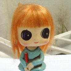 Muñecas Modernas: MUÑECA JAPONESA -CON MUELLE -MUEVE LA CABEZA 1970. Lote 25883442