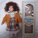 Muñecas Modernas: MUÑECA DE PORCELANA CUERPO BLANDITO DE 30 CM.. Lote 15855558