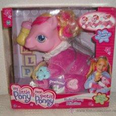 Muñecas Modernas: MY LITTLE PONY,BABY PONY MIMITOS,HASBRO,2005,FUNCIONANDO,CAJA ORIGINAL,A ESTRENAR. Lote 23912682