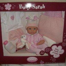 Muñecas Modernas: BABY SARAH DE GÖTZ,CAJA ORIGINAL,A ESTRENAR. Lote 25517534