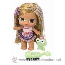Muñecas Modernas: MUÑECA BRATZ BABYZ HAIR FLAIR JASMIN - BRILLAN EN LA OSCURIDAD - MGA - NUEVA A ESTRENAR. Lote 34099847