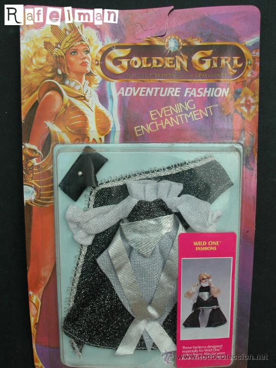 GOLDEN GIRL DE GALLOOB - BLISTER ROPA Nº 5 - MASTERS DEL UNIVERSO - 1984 (Juguetes - Muñeca Extranjera Moderna - Otras Muñecas)
