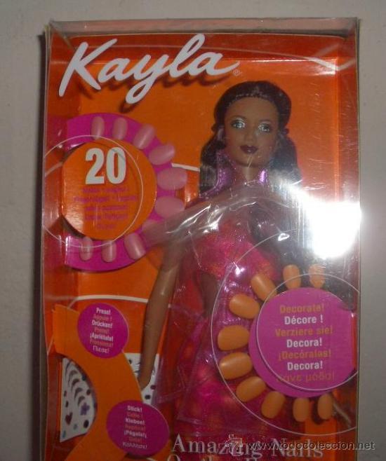 Muñecas Modernas: KAYLA,AMAZING NAILS,DE BARBIE,MATTEL,2001,CAJA ORIGINAL,A ESTRENAR - Foto 3 - 22504709