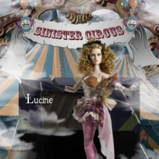 Muñecas Modernas: IMPRESIONANTE LUCINE DE ROBERT TONNER, SINISTER CIRCUS. COMO ELLOWYNE WILDE, . Lote 27179023
