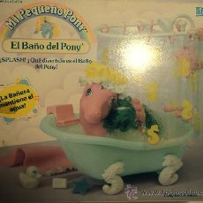 Moderne Puppen - Mi pequeño Pony , El Baño de Pony. 1989 MB España - 55693975