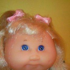 Muñecas Modernas: CABBAGE PATCH KIDS. PRECIOSA RUBIA MELENA. REPOLLO: CABAGGE. Lote 25726357