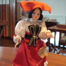 Muñecas Modernas: MUÑECA CON TRAJE REGIONAL. Lote 26333893