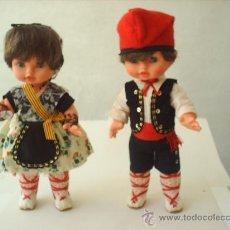 Muñecas Modernas: PAREJA DE MUÑECOS CON TRAJE REGIONAL CATALUÑA , AÑOS 60 - VER FOTOS INTERIOR. Lote 26900666