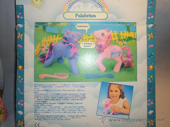 Muñecas Modernas: Mi pequeño Pony, Palabritas. 1989 MB España. - Foto 2 - 27975484