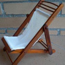 Silla tumbona de madera muebles playa para barb comprar for Muebles barbed