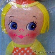 Muñecas Modernas: GRACIOSA MUÑECA DE TRAPO NUEVA EN BLISTER .WE´RE YOUR´S (MADE IN HONG KONG) AÑOS 70-80. Lote 28877066