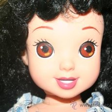 Muñecas Modernas: MUÑECA MORENA BLANCANIEVES PELO VALIDO MUÑECA NANCY MORENO O NEGRO. Lote 29038733