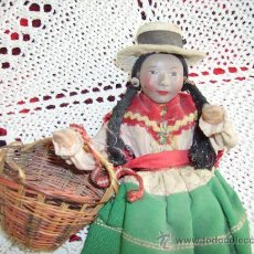 Muñecas Modernas: ANTIGUA MUÑECA PERUANA. Lote 29068497