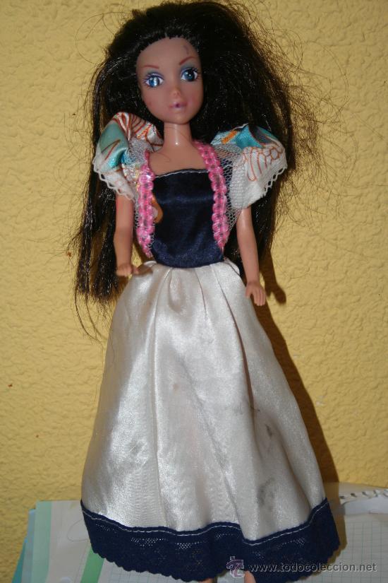 MUÑECA MORENA BARBIE (Juguetes - Muñeca Extranjera Moderna - Otras Muñecas)
