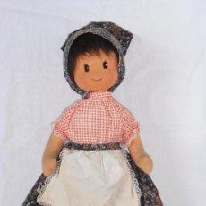 Muñecas Modernas: MUÑECA HOLANDESA FIELTRO TRAJE TIPICO AÑOS 70. Lote 31694280