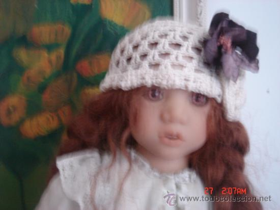 Muñecas Modernas: PRECIOSA MUÑECA DE ANNETTE HIMSTEDT 1997, OJOS MARRONES, COMO NUEVA, VESTIDO Y ZAPATOS DE ORIGEN - Foto 10 - 32027056