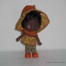 Muñecas Modernas: TARTA DE FRESA NEGRITA STRAWBERRY SHORTCAKE AÑOS 80. Lote 32067435