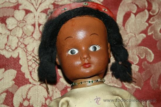 Muñecas Modernas: BONITA MUÑECA DE GOMA - REP. INDIA - AÑOS 60-70 - HONGKONG - Foto 2 - 32113436