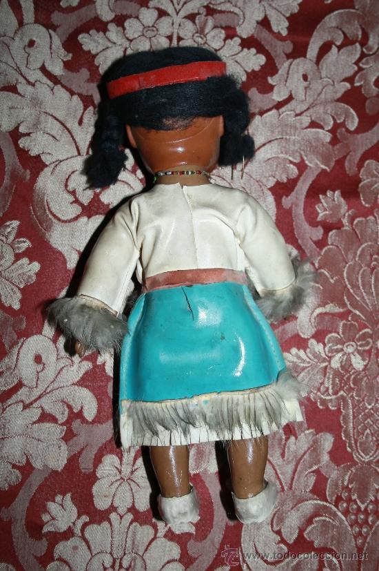 Muñecas Modernas: BONITA MUÑECA DE GOMA - REP. INDIA - AÑOS 60-70 - HONGKONG - Foto 3 - 32113436