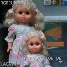Muñecas Modernas: COLECCION FAMILIA 3 MUÑECAS RUBIAS NUEVAS. Lote 32206133