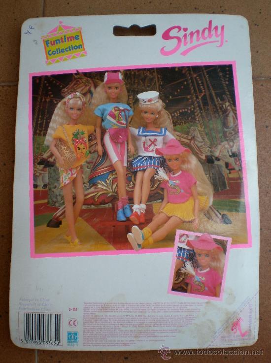 Muñecas Modernas: Blister ropa muñeca Sindy de Hasbro, año 1990 - Foto 3 - 157283098