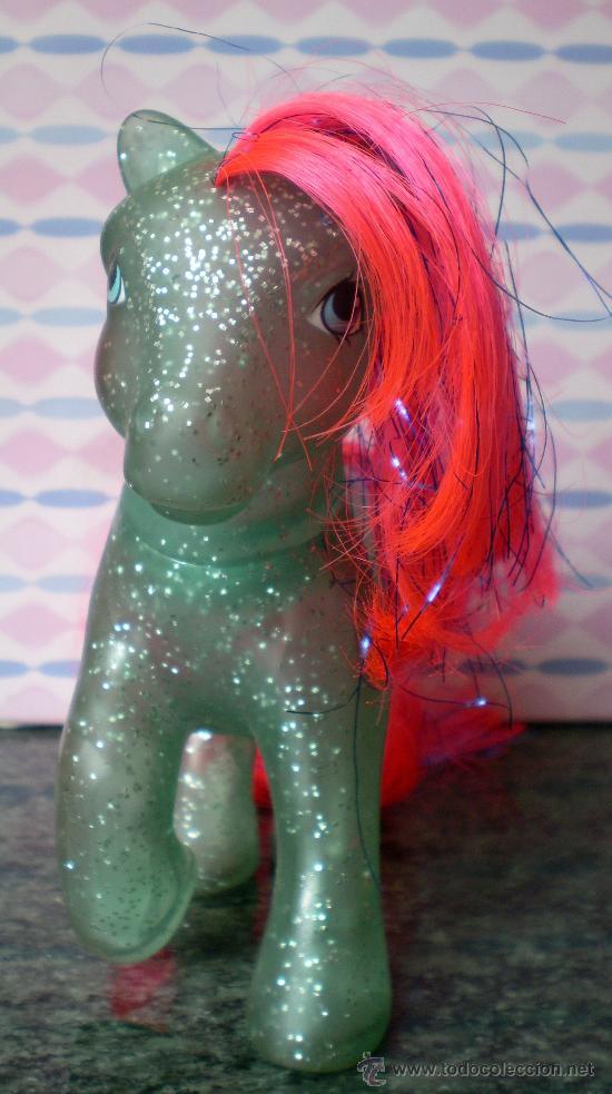 Muñecas Modernas: Little Pony Sky Rocket Sparkle, años 80, Purpurina - Foto 2 - 32998431