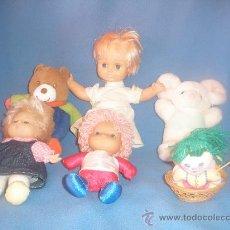 Muñecas Modernas: LOTE DE MUÑECAS Y MUÑECOS VARIOS, EN TOTAL SEIS.. Lote 34194187