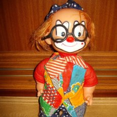 Muñecas Modernas: ANTIGUO MUÑECO PAYASO. Lote 34285195