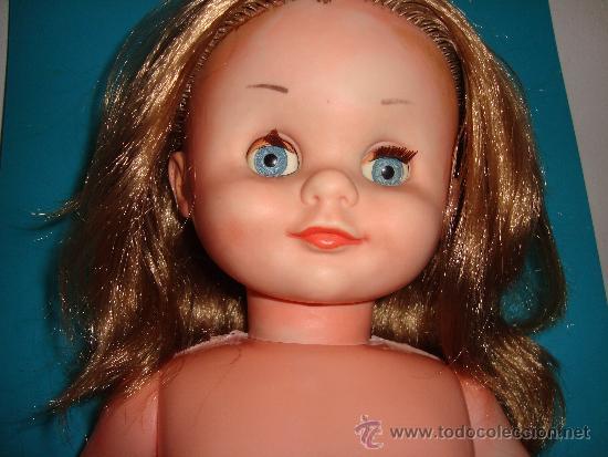 Muñecas Modernas: Muñeca de plástico duro CON BRAGUITA AÑOS 50 - 60 - Foto 6 - 222037781
