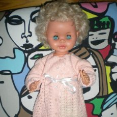 Muñecas Modernas: MUÑECO MARCA BELLA FRANCESA DE GRAN TAMAÑO AÑOS 60 IRIS ANTIGUO. Lote 34624280
