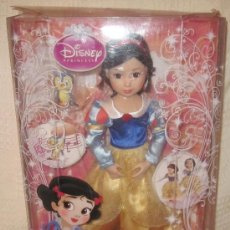 Muñecas Modernas: BLANCANIEVES,SNOW WHITE,DISNEY PRINCESS,ZAPF CREATION,CAJA ORIGINAL,2010,A ESTRENAR. Lote 89626596