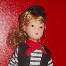 Muñecas Modernas: LOTE HARRODS - MUÑECA DE PORDELANA DE COLECCION - NUEVA. Lote 35721585