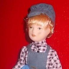 Muñecas Modernas: LOTE HARRODS - MUÑECA DE PORDELANA DE COLECCION - NUEVA. Lote 35721822