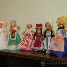 Muñecas Modernas: LOTE DE MUÑECAS DEL MUNDO. Lote 35968050