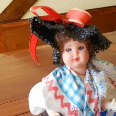 Muñecas Modernas: ANTIGUA MUÑECA FRANCESA, OJOS DURMIENTES. Lote 37164608