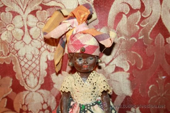 Muñecas Modernas: BONITA MUÑECA EN CELULOIDE CON TRAJE REGIONAL DE MARTINICA. AÑOS 40. - Foto 2 - 37217445