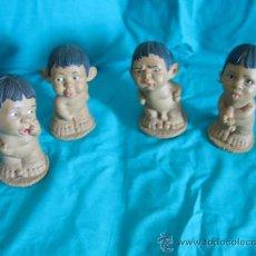 Muñecas Modernas: CUATRO MUÑECOS JEIMG MIDEN 14 CM. Lote 37250993