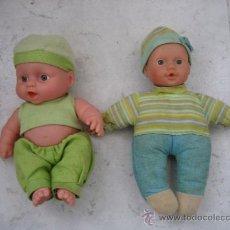 Muñecas Modernas: PAREJA DE MUÑECOS 20 CM. Lote 37281662