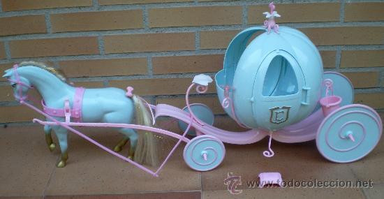 Carroza de cenicienta mu eca princesa disney i comprar - Carroza cenicienta juguete ...