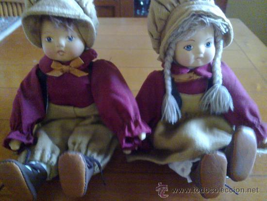 PRECIOSA PAREJA DE MUÑECOS (Juguetes - Muñeca Extranjera Moderna - Otras Muñecas)