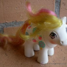 Muñecas Modernas: LITTLE PONY BABY SISTER APPLE DELIGHT HASBRO 1984. Lote 38586784