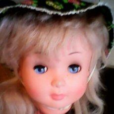 Muñecas Modernas: ANTIGUA MUÑECA CON ROPA ORIGINAL DE LOS AÑOS 70/80. Lote 39898525